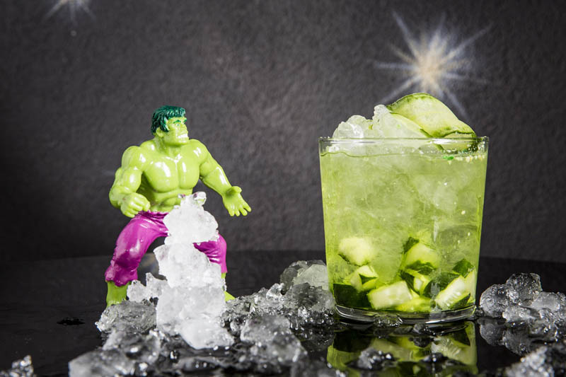 drink HULK SMASHES realizzato da I Maestri del Cocktail